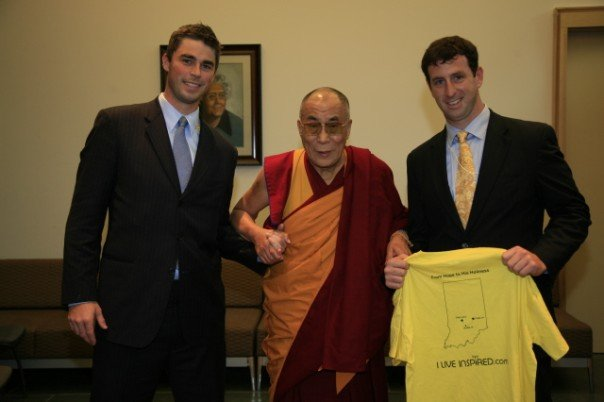 The Founders with the Dalai Lama